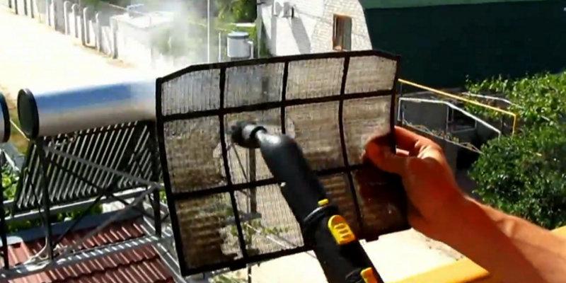 Чистка решеток воздухозаборника